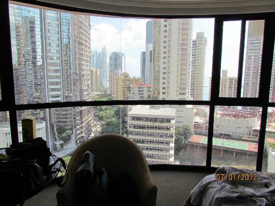 Plaza Paitilla Inn: Vista desde la habitación