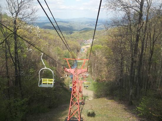 Ober Gatlinburg Amusement Park U0026 Ski Area: Veiw From Chairlift