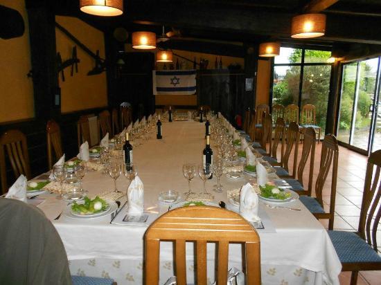 Hotel Casa Rosalia: Comedor privado