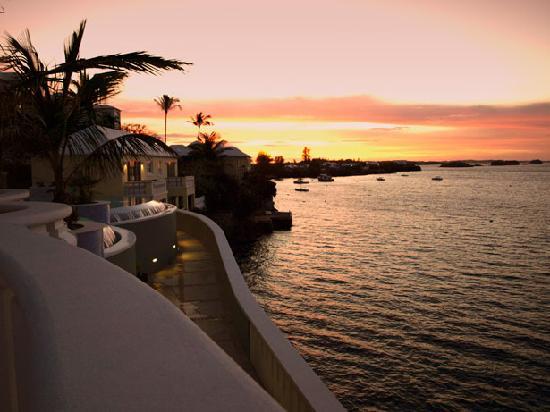 Newstead Belmont Hills Hotel: Sunset