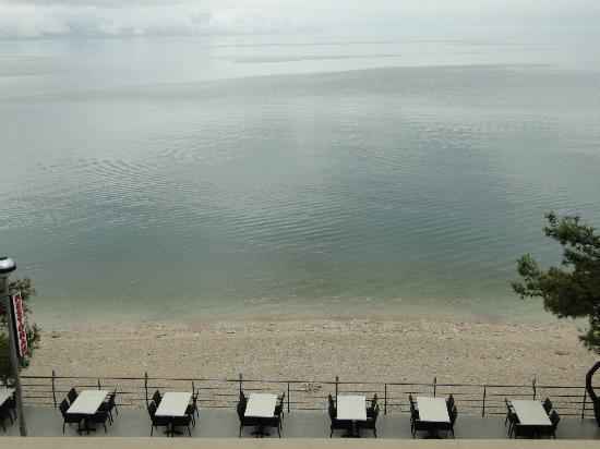 Hotel Saudade: El mar delante del hotel