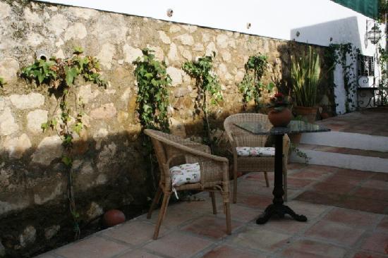 La Francesa Suites Hotel Boutique : Patio