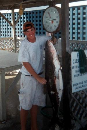 Side Kick Charters: Mate with a 50 lb Cobia!