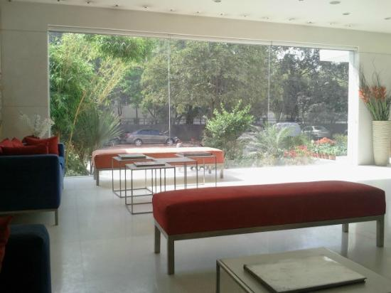 Treebo Amber: The reception area