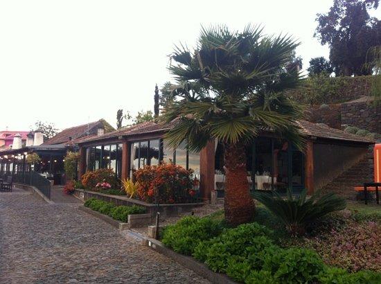 Praia Dos Reis Magos: entrada restaurante