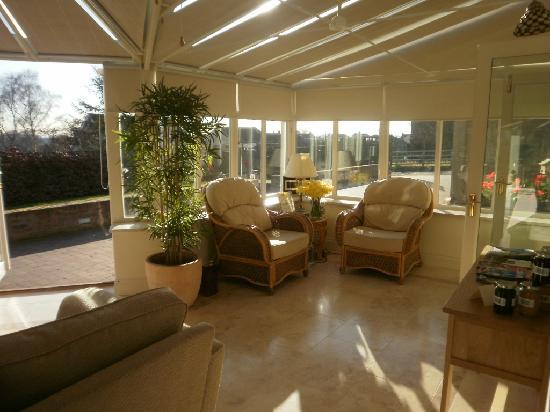 Ashfield House Luxury B&B: Conservatory