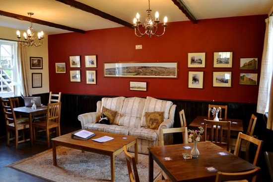 White Horse Farm Inn : White Horse History Room of Rosedale Abbey