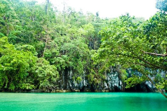 Puerto Princesa Underground River: Entrance of the Underground River
