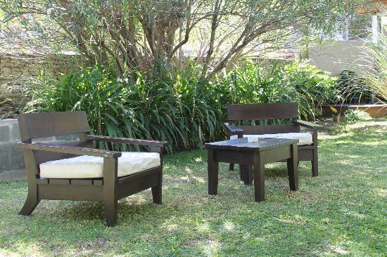Posada El Capullo: EL jardín Un lindo lugar para tomar unos ricos mates