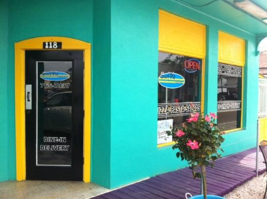 Surf Pie : New location across from McDonald's drive-thru entrance