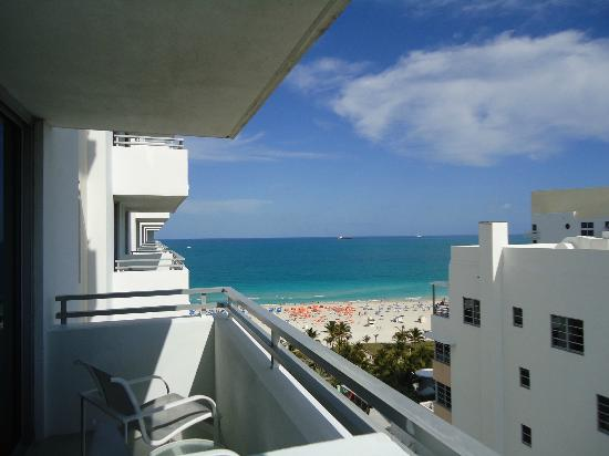 Loews Miami Beach Hotel: balcony room 1425