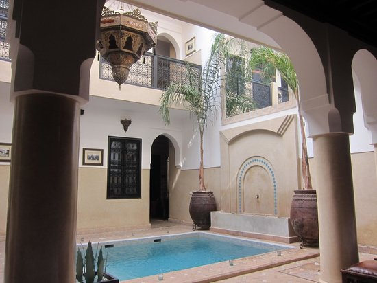 Riad Anjar: View from breakfast