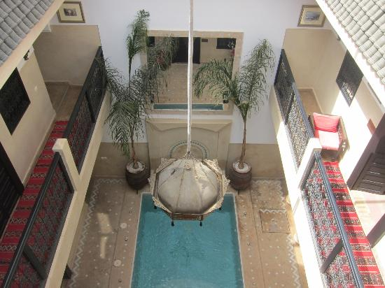 Riad Anjar: View from Outside Room