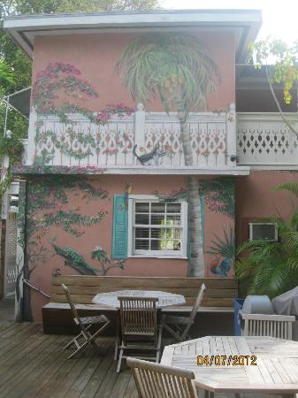 Courtney's Place: back deck