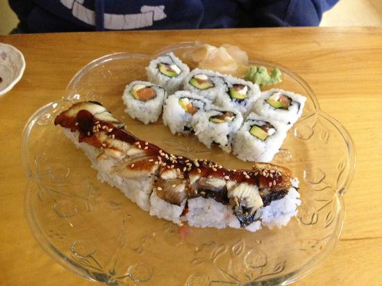 Sushi Atlantic: Philly roll and Atlantic roll- extra yum