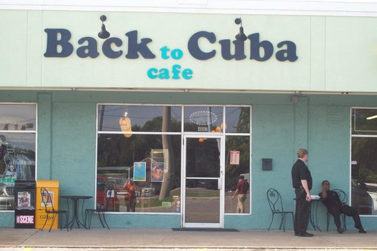 Back To Cuba Cafe: Store Front