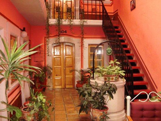 Jerez de Garcia Salinas, Meksyk: Interior del hotel