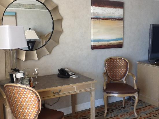 The San Luis Resort: desk