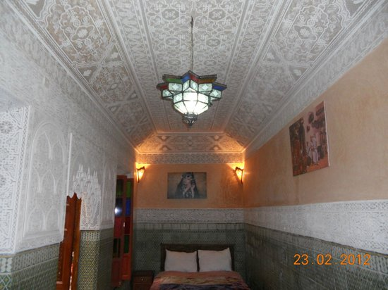 Riad Nasser : View of a room taken from in bathroom