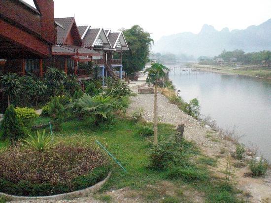 River View Bungalows : Vista dal balcone