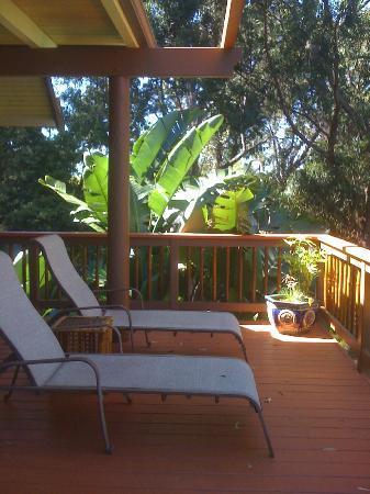 Aloha Cottage : The Deck
