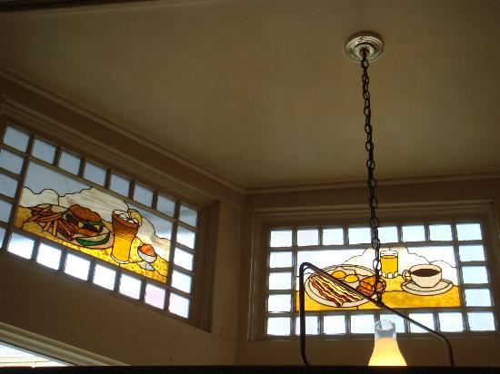 The Beverley: stained glass decor
