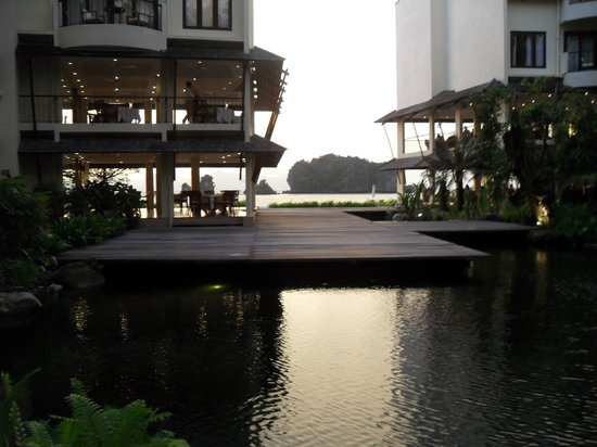 Langkawi, Malaysia: View from Lobby through to beach