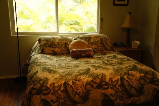 The Ohia House: Bed