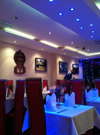 nice decor - picture of melam south indian restaurant, hounslow