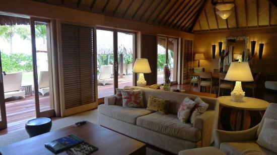 Four Seasons Bora Bora Hotel Rooms