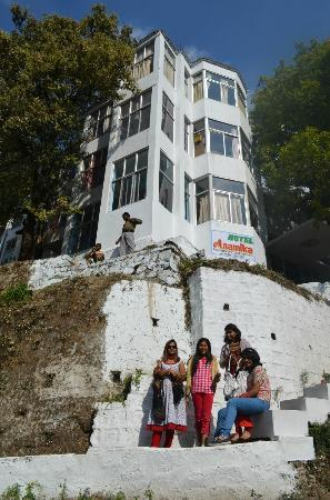 Anamika Hotel: Outer look of hotel