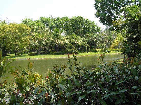Horizon Village & Resort: Typical of the gardens and extensive lakes around the Resort