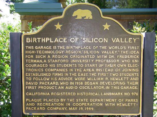 Hewlett Packard Garage: Birth Place of Silicon Valley
