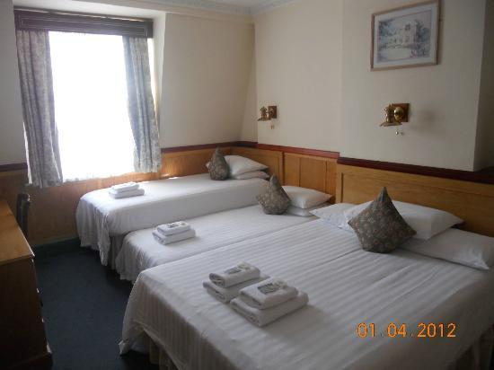 Lincoln House Hotel: Family room