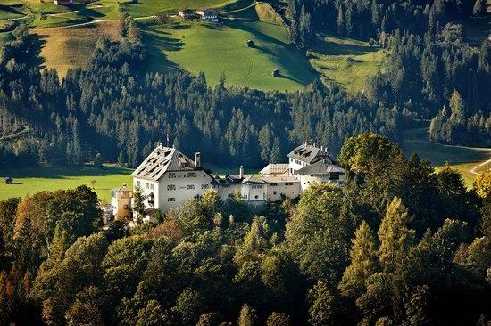 Hotel Schloss Mittersill: Schloss Mittersill Außenansicht