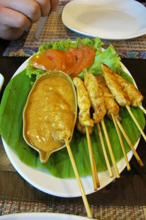 Sawasdee: Chicken Satay