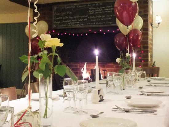 The White Horse Restaurant: Party time