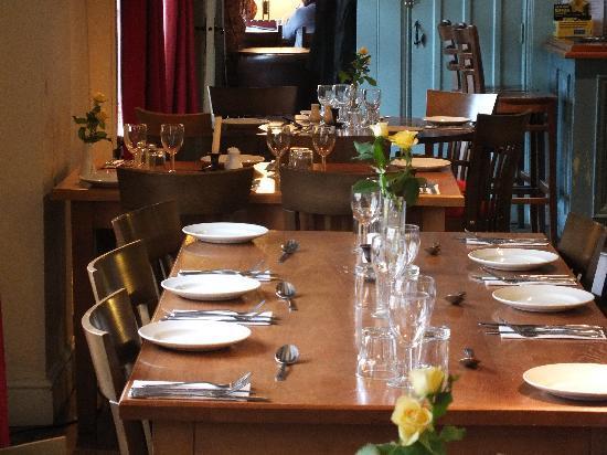The White Horse Restaurant: In the restaurant