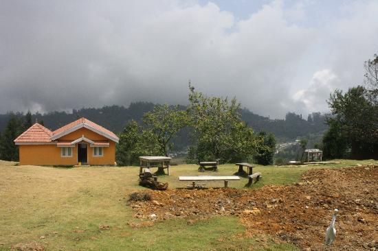 Surya Holidays Kodaikanal : From the hill view