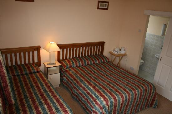Hillview B&B: Triple room
