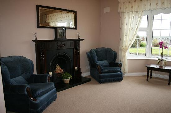 Hillview B&B: Lounge area