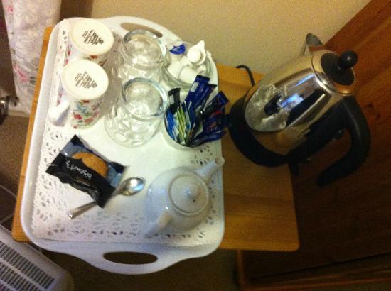 Ardross and Glencairn Guesthouse: Room tea/coffee - facilities