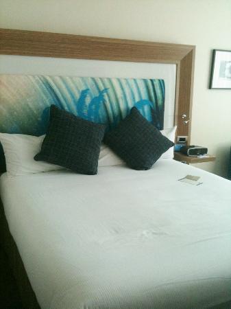 Novotel Hamilton Tainui: comfy bed