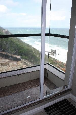 Plettenberg Park Hotel & Spa: View from Shower
