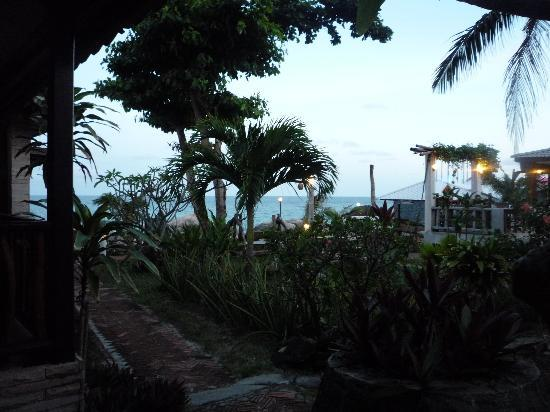 Sunrise Bungalow: View of sea from Bungalow 203