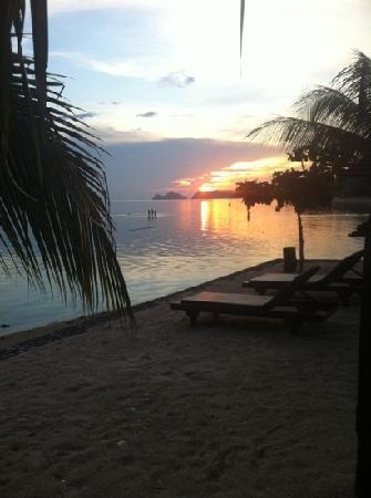 Dewshore Resort: sunset