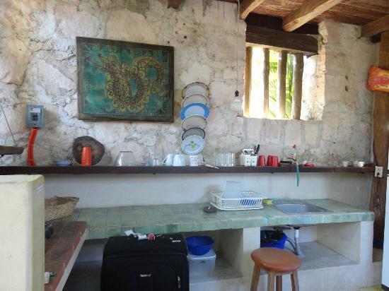 Aerolito Tulum: Private kitchen