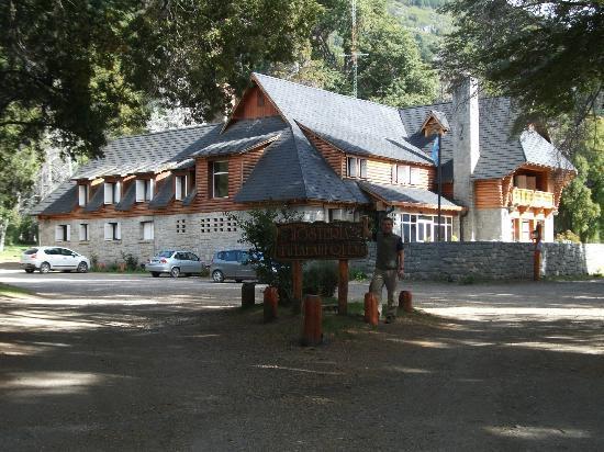 Hosteria Futalaufquen: vista del hotel
