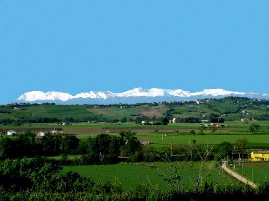Villa San Nicolino: Monti Sibillini