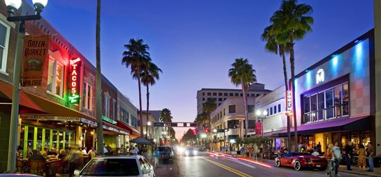 West Palm Beach, FL: Clematis St., Downtown WPB
